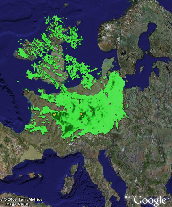 Google Adds More Countries with Weather Radar Layer - Google