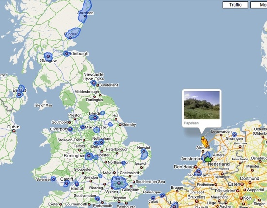 New Google Street View coverage for March 2009