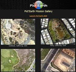 PictEarthUSA uses Google Earth
