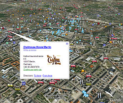 Points of Interest in Google Earth