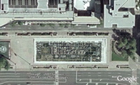 Recursive map - Freedom Plaza - in Google Earth