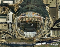 Live Earth Concerts Map in Google Earth