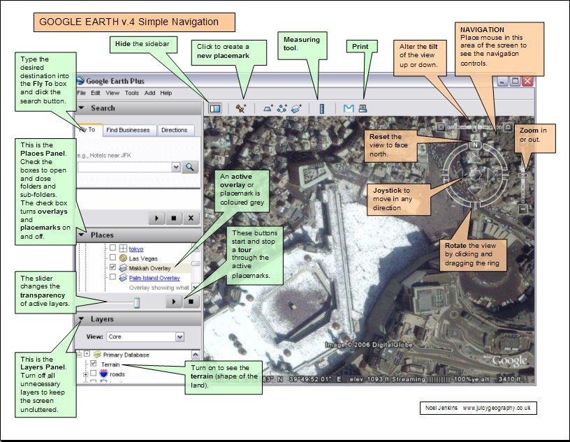 Google Earth 4 Visual Guide