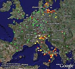 Lightning Data in Google Earth