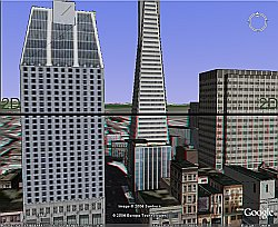 TriDef Visualizer Stereoscopic 3D in Google Earth