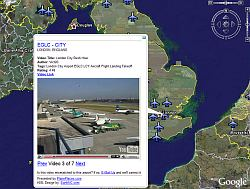 Airport Videos in Google Earth