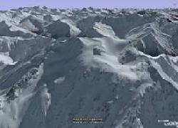 New high resolution terrain - New Zealand -  in Google Earth