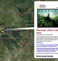 National Geographic Megaflyover in Google Earth