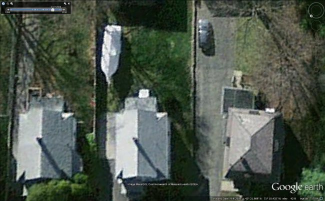 The Boston Marathon Manhunt in Google Earth - Google Earth Blog