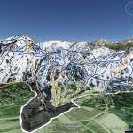 Explore Jackson Hole Mountain Resort with Google Earth