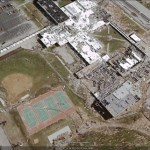 GeoEye releases some aerial imagery from the Joplin tornado