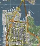 Google Street Maps Overlay for Google Earth