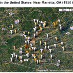 Tracking tornadoes in Google Earth
