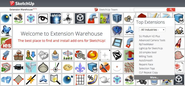 extension-warehouse
