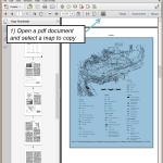 Turning a paper map into a 3D image overlay