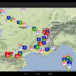 Tracking the Tour de France in Google Earth on Android