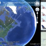 Tracking the Boeing Dreamliner in Google Earth