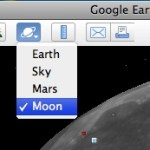 Exploring the moon in Google Earth