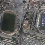 "Some amazing ""before and after"" images in Google Earth"