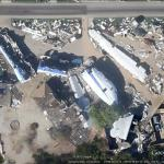 Fake buildings in Google Earth