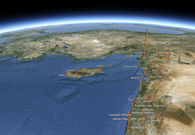 filemaker in Google Earth