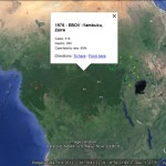 Google Maps of recent Ebola and MERS Outbreaks