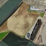 The artwork of Jorge Rodriguez-Gerada in Google Earth
