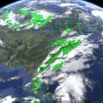Tracking the weather with Google Earth