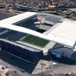 The 2014 World Cup Stadiums in Google Earth