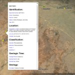 Finding Dinosaurs in Google Earth