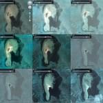 Disappearing Tongan islet
