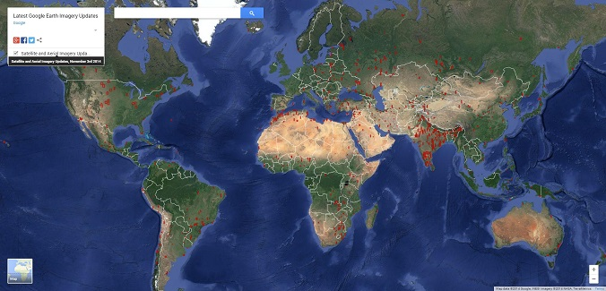 Latest Google Earth Imagery