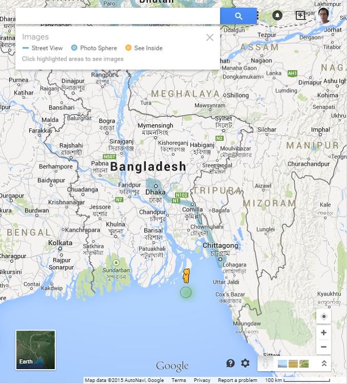 Bangladesh Street View coverage
