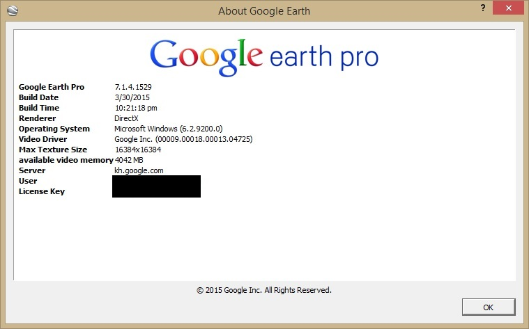 will google earth work with windows 10