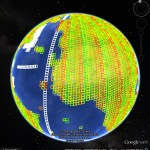 Landsat imagery coverage
