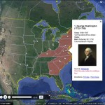 Past US Presidents with Google Earth