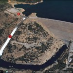 Oroville Dam crisis imagery