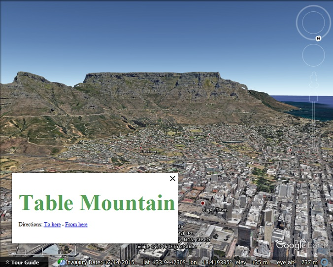 Google Earth Tour builder: Part 3 – Labelling - Google Earth Blog