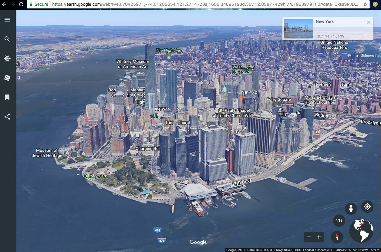 First Review of New Google Earth - Google Earth Blog
