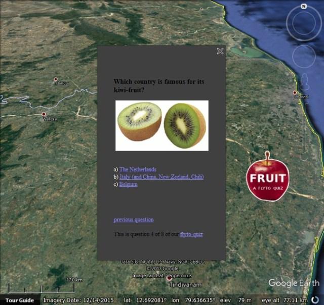 FlytoQuiz2 Google Earth Quiz Maker   Google Earth Blog