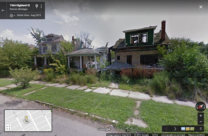 Using Computer Vision and Street View to Map Urban Change - Google on