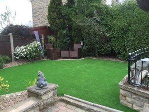 new laid lawn in hillsborough