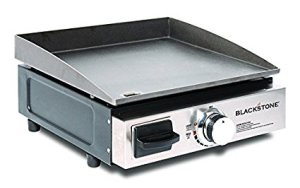 Blackstone Portable Table Top Camp Griddle, Gas Grill for Outdoors, Camping, Tailgating