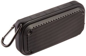 AmazonBasics Shockproof and Waterproof Bluetooth Wireless Speaker