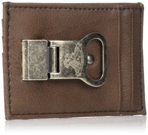 Levi S Front Pocket Slim Wallet W Money Clip Amp Bottle