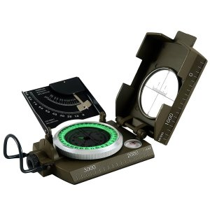 Eyeskey Multifunction Military Army Sighting Compass with Inclinometer for Camping Hiking