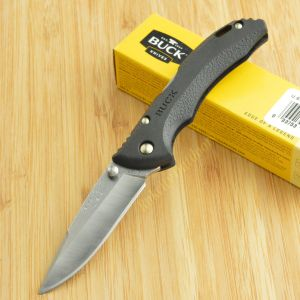 Buck Knives Bantam BBW 420HC Black Thermoplastic Lockback Folding Knife 284BKS
