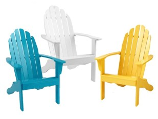 Cool-Living Painted Adirondack Chair - Your Choice