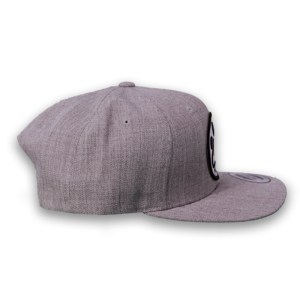 gear up poet, light/grey,brand hat, by poet the puppy