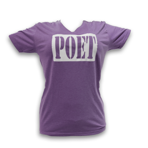 Slim fit Gear up poet, Poet the Puppy, V Neck T-Shirt